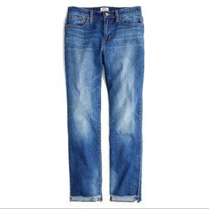 J.Crew Stem Hem Slim Boyfriend Jeans, sz 31T